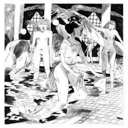 Locatelli Loïc : le bain