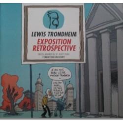 Trondheim Lewis : Exposition Rétrospective, Fondation Delcourt.