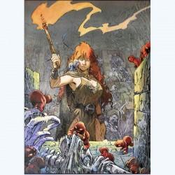 Loisel Régis : Affiche Flambeau.