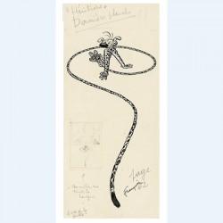 Franquin: Sérigraphie Les Héritiers.