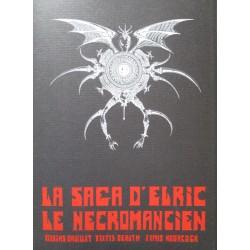 Druillet Philippe : Portfolio Luxe Elric le Nécromancien.