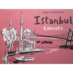 Dupuy-Berbérian : Istanbul carnets