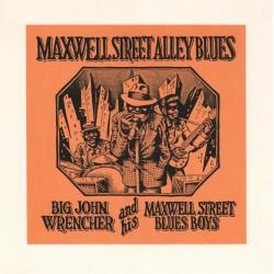 Crumb Robert : Sérigraphie Maxwell Street Blues Boys.