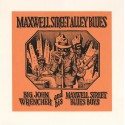 Crumb Robert : Sérigraphie Maxwell Street Alley Blues.
