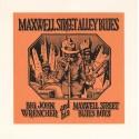 Crumb Robert : Sérigraphie Maxwell Street Alley Blues.