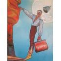 Moebius : Affiche Originale Major Grubert