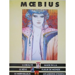 Moebius : affiche Made in L.A.