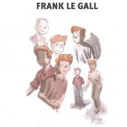 Legall Franck: Catalogue exposition, Oeuvres sur papier.