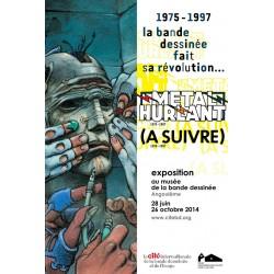 Affiche Musée de la Bande Dessinée Angoulême: la Bande dessinée fait sa révolution.