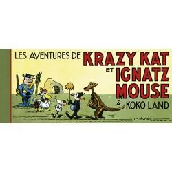 Herriman Georges: les aventures de Krazy Kat et Ignatz Mouse à Kokoland.
