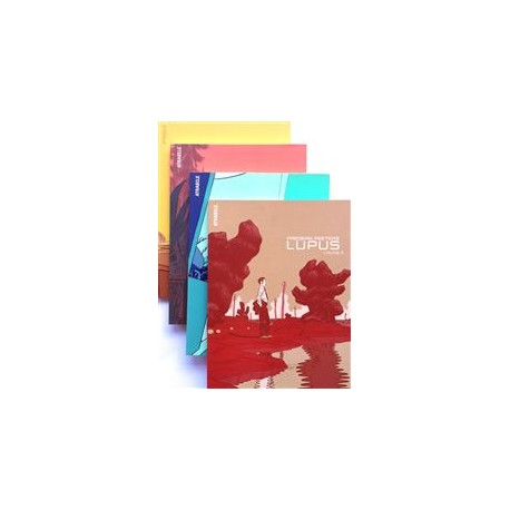 Peeters Frederik: Pack Lupus, avec ex-libris.
