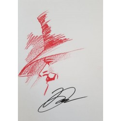 Lloyd David: Dessin Original, V pour Vendetta.