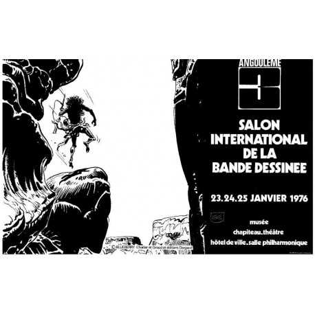 Giraud Jean: Affiche Angoulême 3.