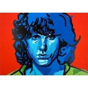 Liberatore Tanino: Sérigraphie Jim Morrison.