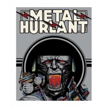 Druillet Philippe: Métal Hurlant, estampe pigmentaire.