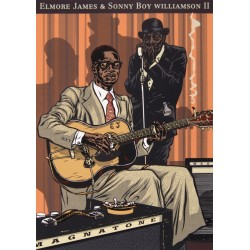 Sérigraphie Mezzo: Elmore James & Sonny Boy Williamson.