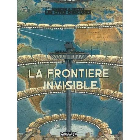 Schuiten & Peeters: Coffret Canal BD, La Frontière Invisible tome 1&2.