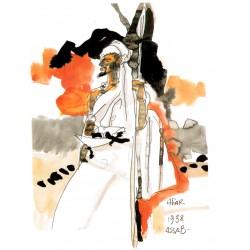 Pratt Hugo: Affiche les Scorpions du désert.