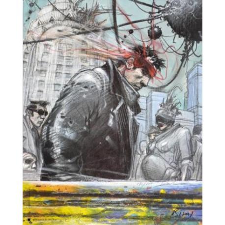 Bilal Enki: Obscurantis, affiche édition d'art.