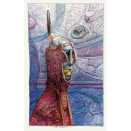 """Moebius: Carnet, """"Une Jeunesse Heureuse""""."""