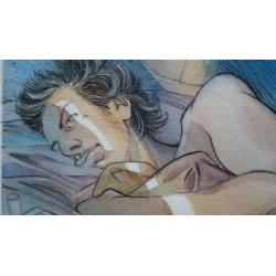 Lepage Emmanuel : dessin original.